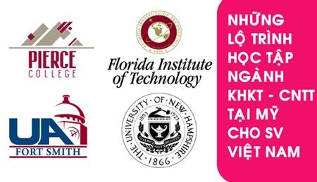 Một số lộ trình học tập ngành KHKT và CNTT uy tín tại Mỹ