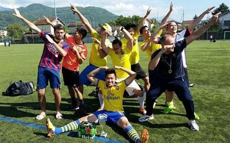 Đội vô địch: Việt kiều Grenoble