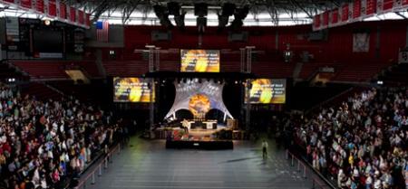 Một chương trình ca nhạc tại đại học Western Kentucky
