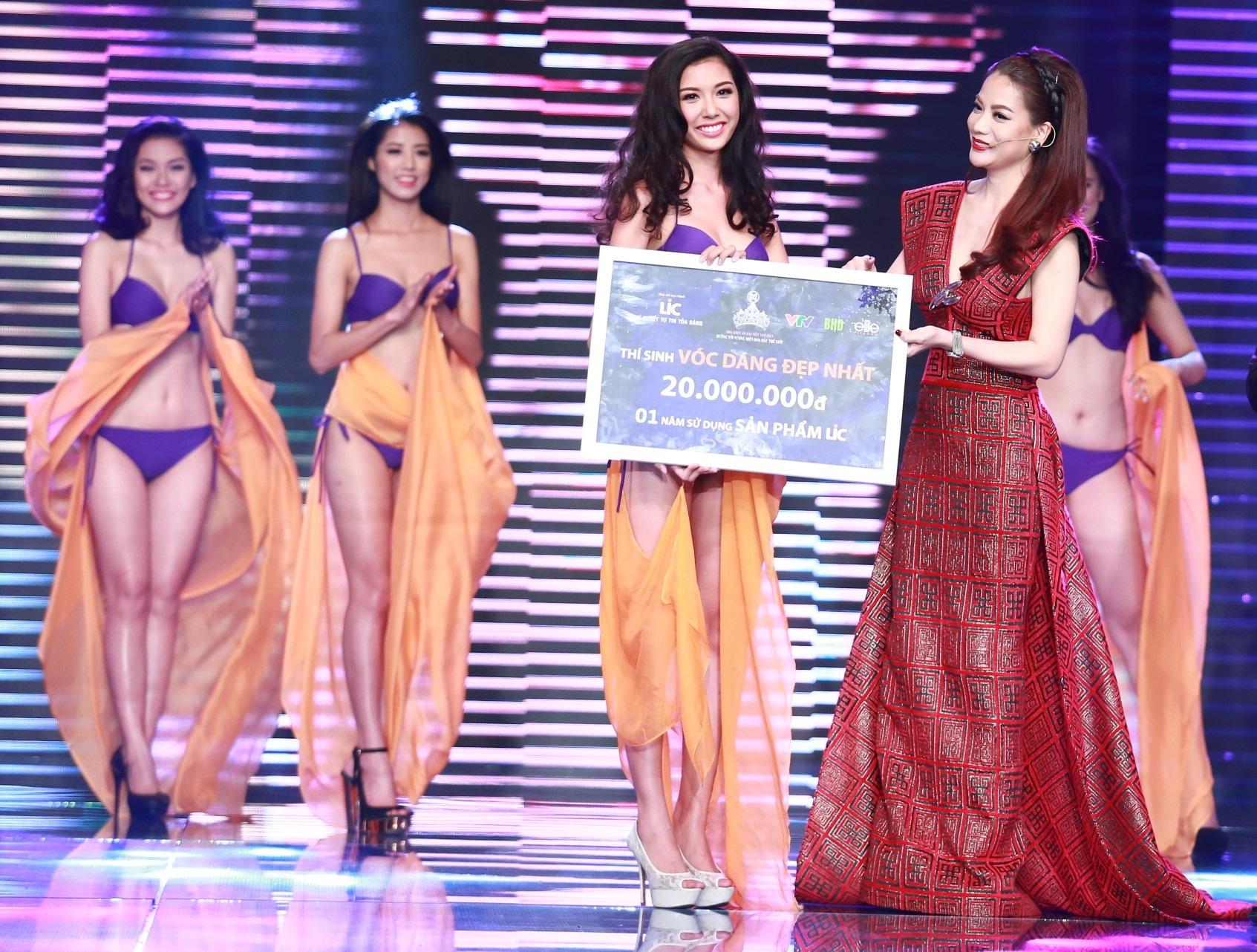 Phạm Hồng Thúy Vân biểu diễn tự tin trong đêm chung kết giành giải thí sinh cải thiện vóc dáng tốt