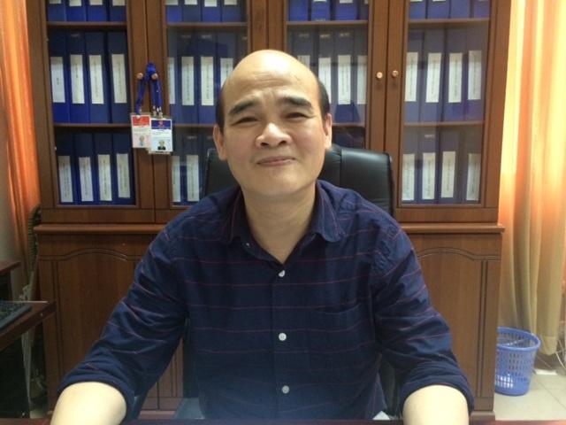 TS Nguyễn Huy Quang. Ảnh: H.Hải