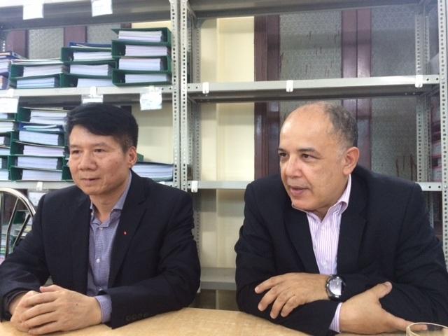 Ông Lahouari Belghabi cho biết, đạt tiêu chuẩn này, giờ vắc xin của Việt Nam