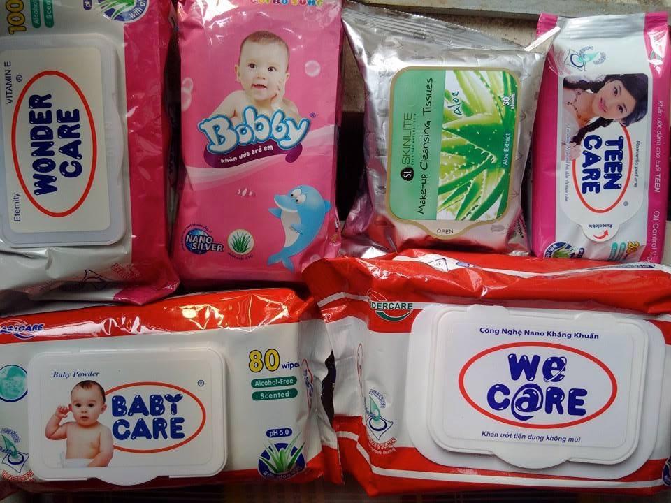 Cẩn trọng khi dùng khăn ướt cho trẻ nhỏ   Báo Dân trí