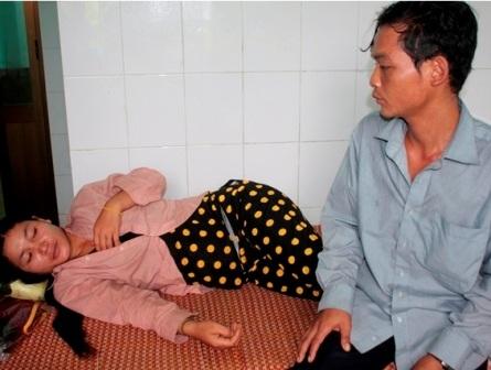Bệnh nhân mắc bệnh bạch hầu được theo dõi, điều trị tại Trung tâm y tế xã
