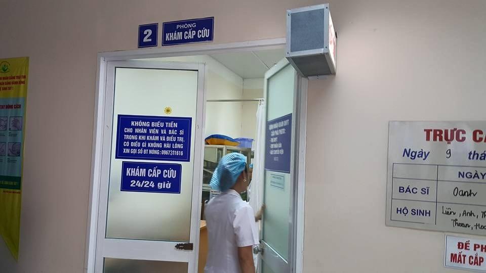 Phòng cấp cứu - nơi bệnh nhân N.T.H được cấp cứu, phẫu thuật. Ảnh: H.Hải