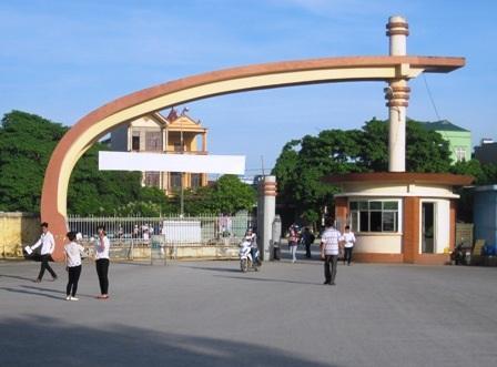 Trường Đại học Hồng Đức (Thanh Hóa) nơi các thí sinh cụm thi số 24 sẽ dự thi