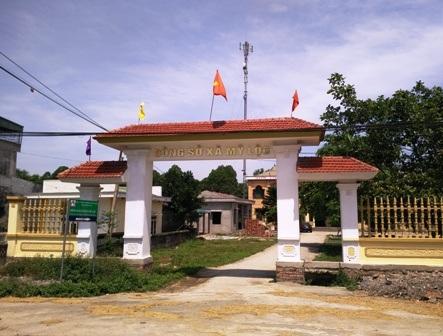 Trụ sở UBND xã Mỹ Lộc, huyện Hậu Lộc, Thanh Hóa.