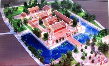 Phối cảnh chùa Hoằng Phúc sau khi hoàn thành