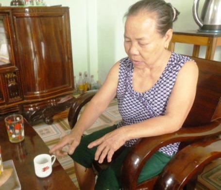 Bà Nguyễn Thị Sen kể lại những chiến tích hào hùng