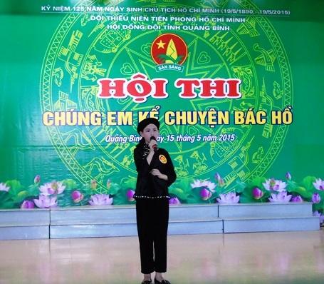 """Em Nguyễn Kiều Trang với câu chuyện """"Bác Hồ chứ còn ai."""