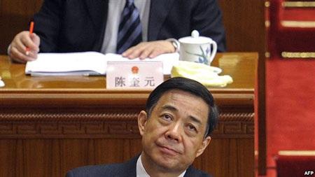 Chính trị gia bị thất sủng Bạc Hy Lai.