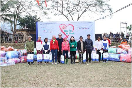Chương trình Đông ấm xứ Thanh 2014 được tổ chức tại 3 xã