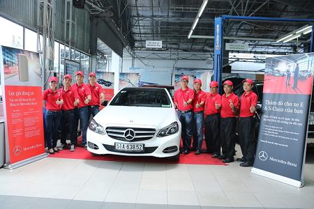 Đội ngũ nhân viên kỹ thuật Vietnam Star Automobile