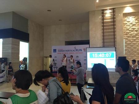 Khai mạc chương trình Hanoi Vertical Run 2015