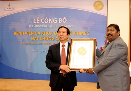 Ông Prabhu Vinayaga – GĐ điều hành JCI Khu vực Châu Á– Thái Bình Dương
