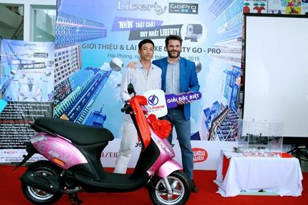 Piaggio Việt Nam: Phiên bản Liberty Go - Pro - Chia sẻ từng khoảng khắc