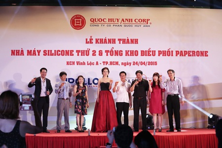 Lễ khánh thành nhà máy silicone thứ 2 tại KCN Vĩnh Lộc A - HCM