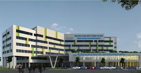 Toàn cảnh Bệnh viện Đa khoa Quốc tế Vinmec Phú Quốc
