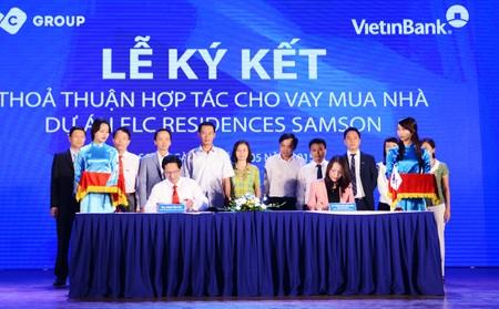 Vietinbank – Tập đoàn FLC ký kết hợp tác