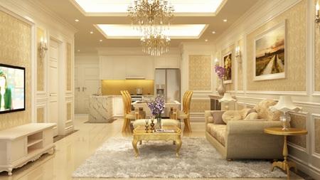 Thiết kế và nội thất sang trọng tại dự án D'. Le Roi Soleil – Quảng An