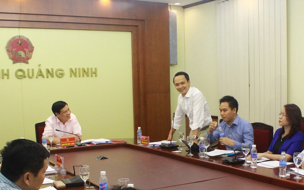 Tập đoàn FLC tìm hiểu cơ hội đầu tư tại Quảng Ninh