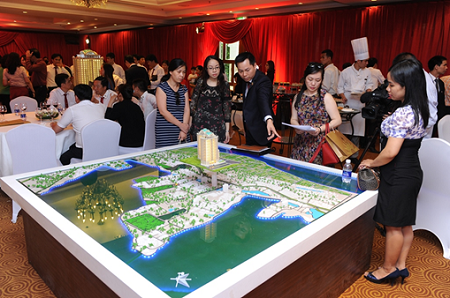 Hơn 1500 khách hàng đến tìm hiểu thông tin dự án tại khách sạn Sheraton, Hà Nội