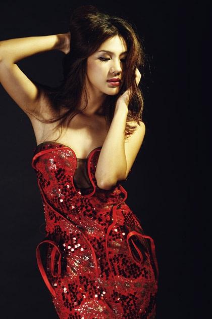 Kim Dung tham dự cuộc thi Siêu Mẫu Châu Á Thái Bình Dương - 5