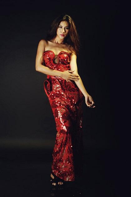 Kim Dung tham dự cuộc thi Siêu Mẫu Châu Á Thái Bình Dương - 6