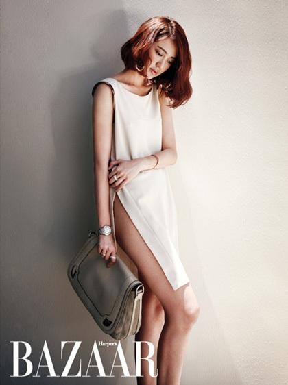 """""""Thái tử phi"""" Yoon Eun Hye gợi cảm với nội y - 10"""