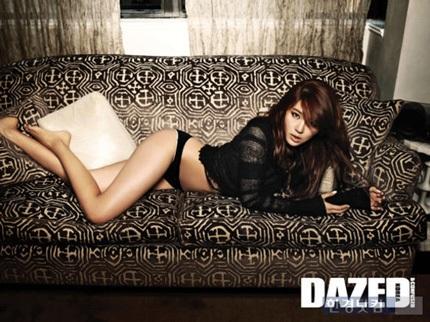 """""""Thái tử phi"""" Yoon Eun Hye gợi cảm với nội y - 2"""