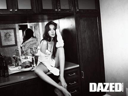 """""""Thái tử phi"""" Yoon Eun Hye gợi cảm với nội y - 5"""