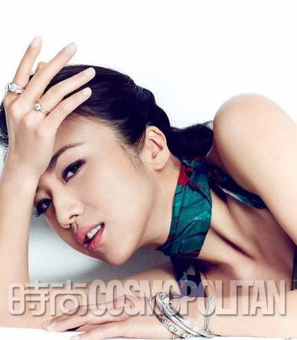 """Những người đẹp châu Á """"thống lĩnh"""" trang bìa tạp chí tháng 4"""