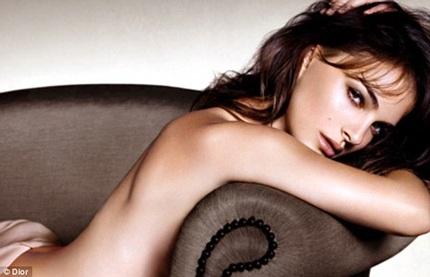 Natalie Portman quảng cáo cho loại son môi mới của Dior.