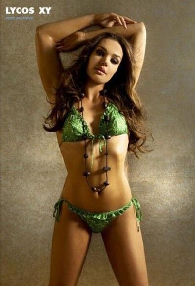 Những bức ảnh nóng bỏng của Tamara trên các tạp chí thời trang danh tiếng vài năm trước.