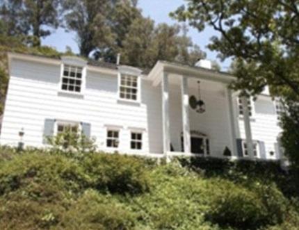Ngôi nhà riêng của Lindsay Lohan - nơi diễn ra vụ việc giữa cô và cha ruột.