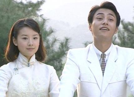 Đổng Khiết và Trần Khôn trong phim