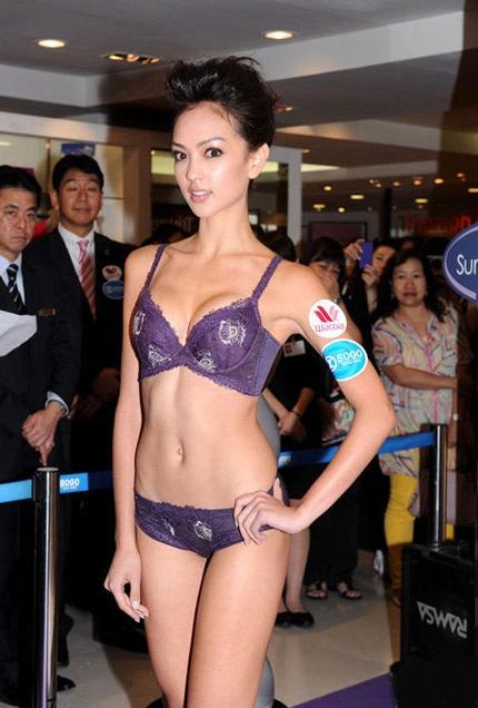 Người đẹp được mệnh danh là thiên thần nội y của Hồng Kông.