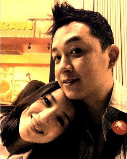 Vợ chồng Đổng Khiết - Phan Việt Minh khi còn hạnh phúc.