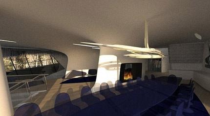 Màu sắc ấn tượng và lạ mắt của ngôi biệt thự rộng hơn 2.500m2 của Naomi Watt.