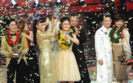 Chúc mừng quán quân của Giọng hát Việt 2012 - Hương Tràm!