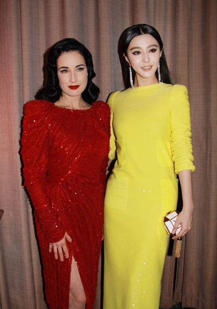 Người đẹp Trung Quốc chẳng kém cạnh ngôi sao quốc tế một chút nào!