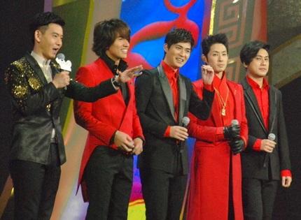 4 anh chàng của F4 lại đứng chung sân khấu sau 6 năm