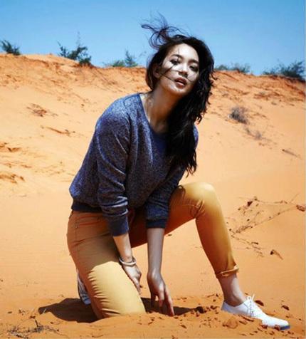 Shin Min Ah chẳng xa lạ gì với khán giả Việt Nam, cô từng góp mặt trong bộ phim truyền hình