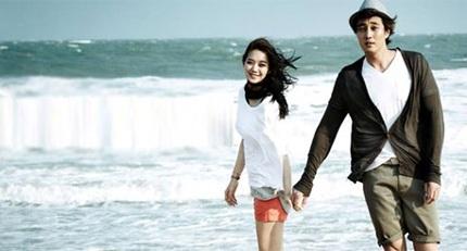 Một số hình ảnh đẹp của So Ji Sub và Shin Min Ah tại Việt Nam