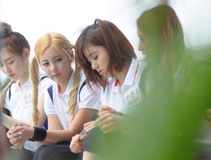 Cận cảnh những gương mặt xinh đẹp và thân thiện của nhóm T-ara