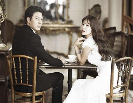 Han Jae Suk đẹp đôi bên cô dâu Park Sol Mi