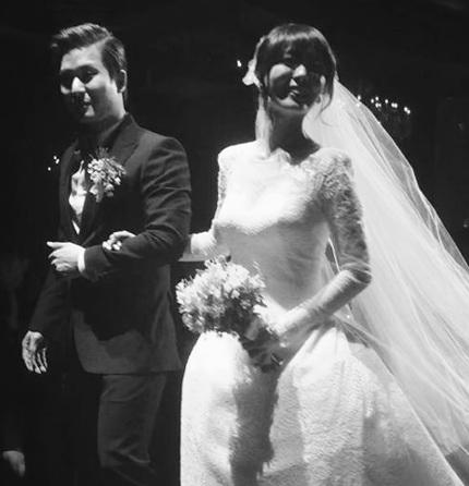 Vợ chồng Sunye của nhóm Wonder Girls đã có tin vui sau đám cưới hồi tháng 1 vừa rồi.