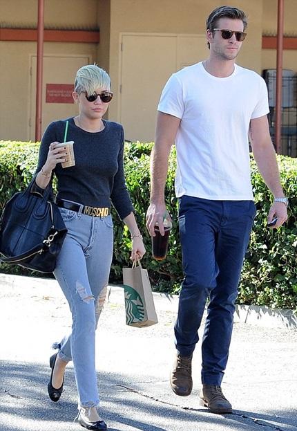 Chuyện tình của Miley và Liam đang thu hút sự quan tâm đặc biệt của dư luận