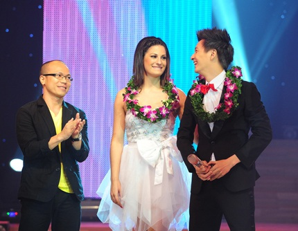 Ngoài giải bạc, Ngô Kiến Huy còn nhận thêm giải Cặp đôi biểu diễn sáng tạo nhất