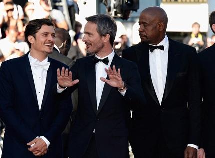 Orlando Bloom (trái) - nam diễn viên chính của bộ phim